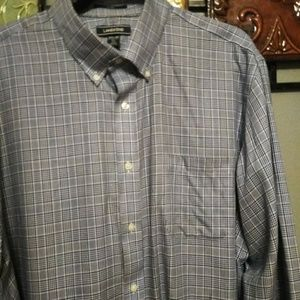 Land's End traditional fit tall shirt 17.5